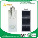 luz de rua solar do diodo emissor de luz 15W com o tudo em um Design