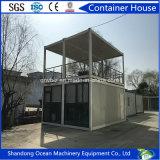 빠른 회의 좋은 품질 및 적당한 가격을%s 가진 가벼운 강철 프레임 그리고 샌드위치 위원회의 모듈 콘테이너 집