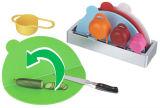 Доска o инструмента 4PCS кухни прерывая