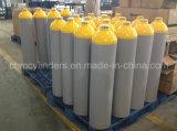 O2 da liga 40L de alumínio, cilindros de gás do CO2