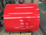 El color de PPGI cubrió la bobina de acero