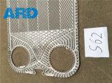 Placa del cambiador de calor de la placa de Sondex S47 S62 para el refrigerador de petróleo