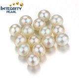 7-8mm AAの等級の円形の自然な淡水の緩い真珠のビード