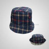 Tampão relativo à promoção do lazer do presente do chapéu da pesca do poliéster da forma
