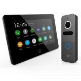 Экран касания памяти 7 дюймов внутренной связи телефона двери Interphone видео-