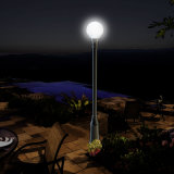 La Cina tutta in una torretta chiara solare del giardino LED per la casa