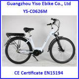 Do lítio central retro aprovado do motor En15194 bicicleta elétrica 700c