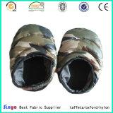 Überzogenes Camo Taft-Gewebe PU-für im Freienzelt-warme Schuhe