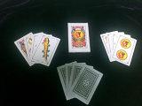 Alta calidad revestida plástica de las tarjetas que juegan