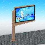 Рекламировать Signage колонки Двойн-Стороны мебели напольный