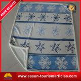 Cobertor coral macio super do velo de matéria têxtil Home com impressão