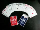 Tarjetas del póker del papel revestido de Dollarama Victoria con el final de lino