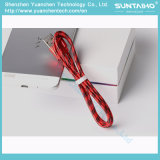 Samsung를 위한 도매 데이터 케이블 나일론 땋는 USB 케이블