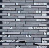 Streifen-Mosaik-Wand-Fliese, Mosaik-Glas-Fliese