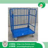 Faltbare Rahmen-Stahllaufkatze für Lager-Speicher Wih Cer-Zustimmung