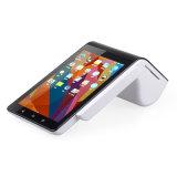 Androide Zahlungs-Maschine NFC Positions-TerminalChipkarte-Leser-Verfasser mit eingebautem Empfangs-Drucker