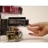 Acrylic устроителя Caddy Glam вращая для косметик составляет хранение индикации коробки