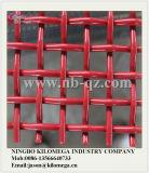 Bildschirm-Ineinander greifen der roten Farben-65mn für Steinzerkleinerungsmaschine