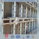 Système en acier de coffrage de composants de mur de machine concrète de construction