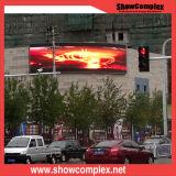 Afficheur LED P10 incurvé commercial pour la publicité