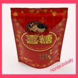 Kundenspezifischer selbsttragender Beutel-Plastiktasche-Nahrung- für Haustierebeutel