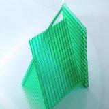 Gekleurd polycarbonaat of Transparant Hol Blad Twinwall voor Serre