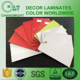 Laminados de la alta presión del color sólido completamente (HPL 1023)