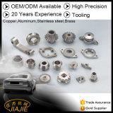 Piezas de aluminio modificadas para requisitos particulares no estándar de los componentes del acero inoxidable ISO9001 de la fábrica Produciing directo Jiajie
