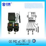 Lavoro universale della ricevente dei 2 canali con il trasmettitore d'apprendimento e di rotolamento fisso di telecomando