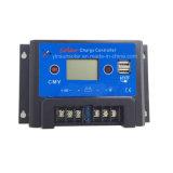 controlador solar da carga 5ah com proteção da sobrecarga e do curto-circuito