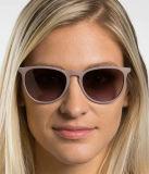 De hete Vrouwen ontwerpen Manier Erika Style Sunglasses Nylon & Zonnebril van de Bescherming van het Frame van het Metaal de UV