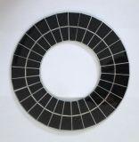 mini painel solar Epoxy do círculo 3.5W