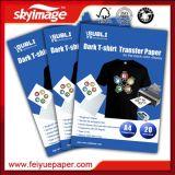Бумага тенниски быстрого сухого размера A4 темная для хлопко-бумажная ткани 100%