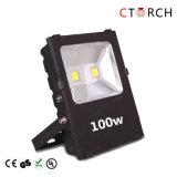 Venda quente 100W da luz de inundação do diodo emissor de luz de Ctorch com Ce RoHS