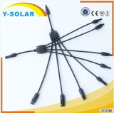 Y-Solar50pair/lot Mc4y-B4 30A Sonnenkollektor-Kabel-Verbinder DC1000V