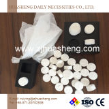 Compressed Cleaning Tissue Coin Round Shape
