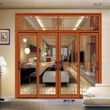 Portes de partition en verre d'alliage d'aluminium pour le prix de cuisine