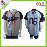 Dri-Misura le uniformi di baseball dei Jerseys/di baseball di sublimazione dell'OEM con il commercio all'ingrosso