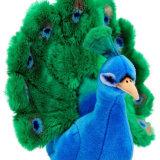 Giocattolo della peluche del pavone farcito abitudine