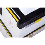 congelador do console da porta deslizante do indicador do Showcase 800L para o espaço maior