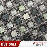 Mosaico di pietra bianco di Carrara, puzzle del mosaico di arte