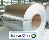 8011-O papel de aluminio del hogar de 10 micrones