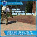 Wasserbasierte geänderte Silikon-hydrophobe Acrylabdichtmasse