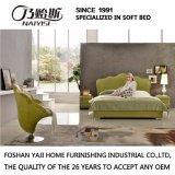 寝室の家具G7006のための革カバーが付いている現代デザインソファーベッド