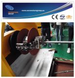 Il filo di acciaio del PVC ha riferito la linea di produzione del tubo