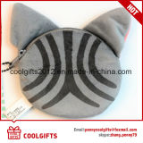 Borsa animale promozionale della moneta della peluche della catena chiave di figura/mini sacchetto della scheda