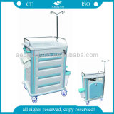 AG-Et012b1 com IV Pole Nursery Furntiure Hospital Trolley