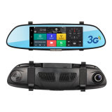 gravador de vídeo Android da câmera DVR do carro de Dvrs Bluetooth WiFi do automóvel do carro do carro 3G DVR GPS de 7.0in
