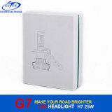 자동 Headlamp를 위한 LED 램프 전구 G7 H7 25W 4000lm 크리 사람 LED 차 헤드라이트