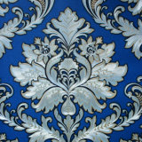 Papeles pintados interiores de la flor grande hermosa con proyecto del PVC